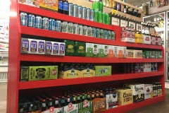 New! A large selection of Craft Beer, Cider and Wine Beverages.